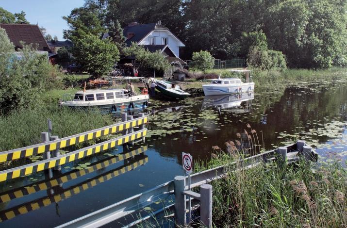 Kanał Elbląski w remoncie