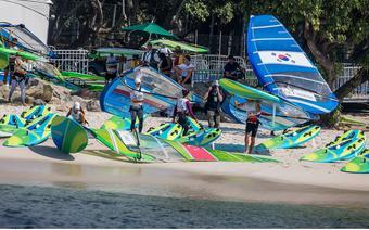 Rio 2016 klasa RSX schodzi na wode