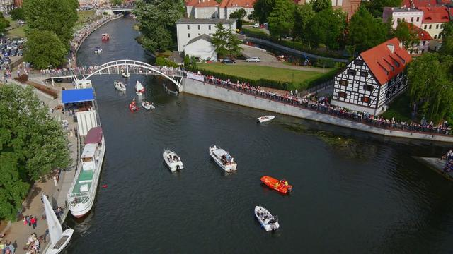 X Bydgoski Festiwal Wodny STER NA BYDGOSZCZ 53°N 18°E