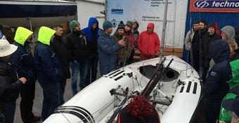 Szkolenie regatowe PSK 505 w Gdyni: RELACJA + ZDJĘCIA